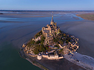 Mont St Michel,  Manche department, Normandy, France