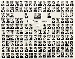 1968 Yale Divinity School Senior Portrait Class Group Photograph
