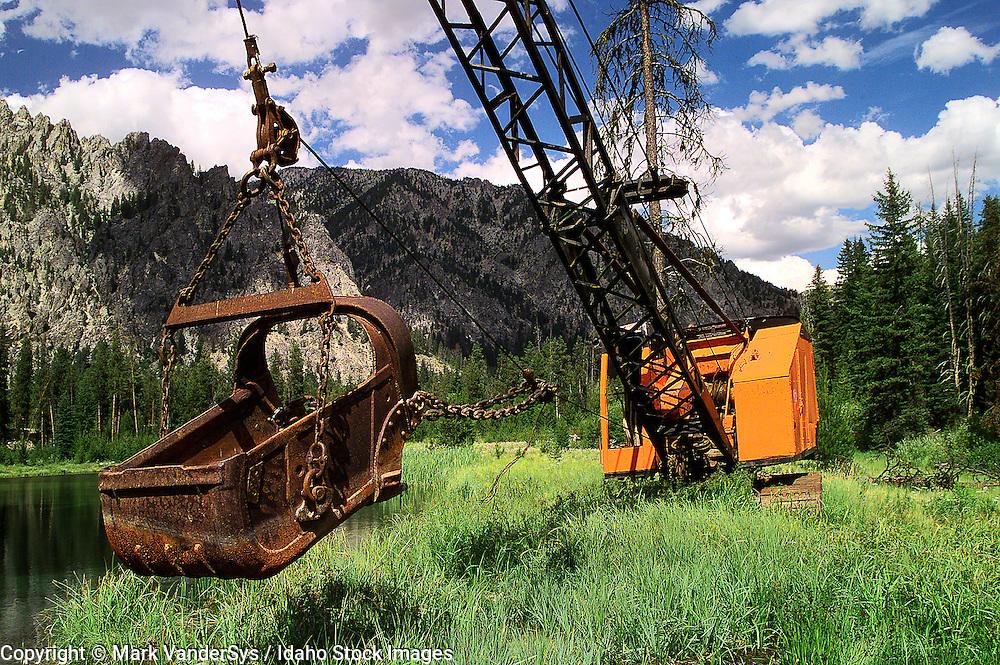 Old Crane Atlanta Idaho
