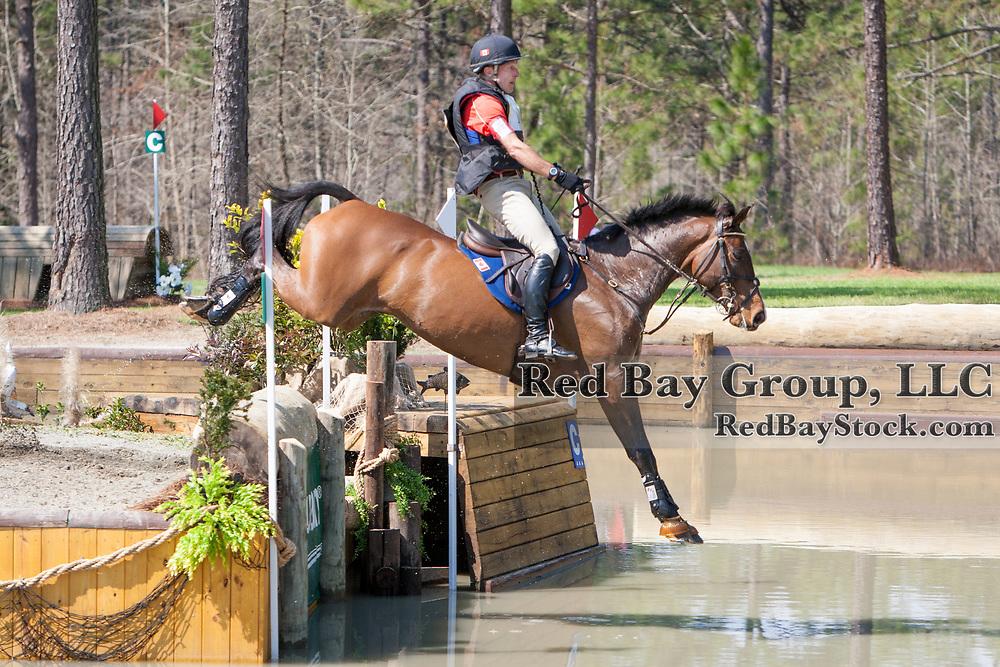 Peter Barry (CAN) and Long Island T at the Carolina International in Raeford, North Carolina.