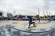 Julz Lynn (formerly Julie Lynn Kindstrand) during Women's Skate Park Practice at the 2013 X Games Barcelona in Barcelona, Spain. ©Brett Wilhelm/ESPN