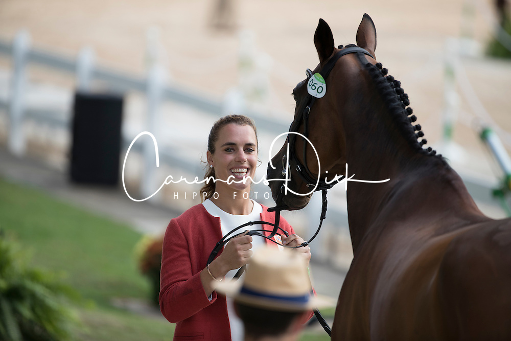 Blom Merel, NED, Rumour Has It<br /> Final Horse inspection Eventing<br /> Olympic Games Rio 2016<br /> © Hippo Foto - Dirk Caremans<br /> 09/08/16