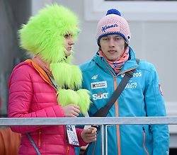 21.03.2014, Planica, Ratece, SLO, FIS Weltcup Ski Sprung, Planica, Grossschanze Herren Einzel, im Bild Marta Majcher, Dawid Kubacki // Marta Majcher, Dawid Kubacki during the mens individual large Hill of the FIS Ski jumping Worldcup Cup finals at Planica in Ratece, Slovenia on 2014/03/21. EXPA Pictures © 2014, PhotoCredit: EXPA/ Newspix/ Irek Dorozanski<br /> <br /> *****ATTENTION - for AUT, SLO, CRO, SRB, BIH, MAZ, TUR, SUI, SWE only*****