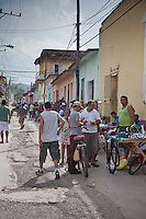 The beautiful world heritage town of Trinidad on Cuba's coast has stunnng architecture and colourful street life.