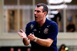 Bristol Flyers head coach, Andreas Kapoulas - Photo mandatory by-line: Robbie Stephenson/JMP - 11/01/2019 - BASKETBALL - Leicester Sports Arena - Leicester, England - Leicester Riders v Bristol Flyers - British Basketball League Championship