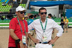 Fuchs Thomas, SUI, Coach, Duguet Romain, SUI<br /> Olympic Games Rio 2016<br /> © Hippo Foto - Dirk Caremans<br /> 16/08/16