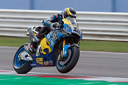 September 7, 2018 - Rimini, RN, Italy - Thomas Luthi of EG 0,0 Marc VDS during the free practice 2 of the OCTO Grand Prix of San Marino e della Riviera di Rimini, at Misano World Circuit Marco Simoncelli, on September 07, 2018 in Misano Adriatico, Italy  (Credit Image: © Danilo Di Giovanni/NurPhoto/ZUMA Press)