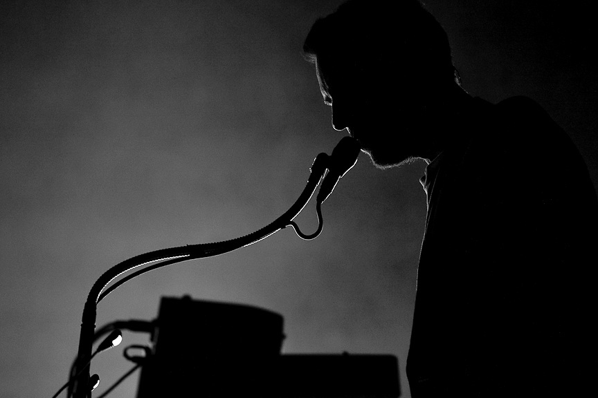 Massive Attack perform at Montreal's Bell Center October 18th, 2010. PHOTO BY TIM SNOW