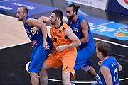 DESCRIZIONE : Trento Nazionale Italia Uomini Trentino Basket Cup Italia Paesi Bassi Italy Netherlands <br /> GIOCATORE : Luigi Datome Marco Cusin<br /> CATEGORIA : tagliafuori coppia<br /> SQUADRA : Italia Italy<br /> EVENTO : Trentino Basket Cup<br /> GARA : Italia Paesi Bassi Italy Netherlands<br /> DATA : 30/07/2015<br /> SPORT : Pallacanestro<br /> AUTORE : Agenzia Ciamillo-Castoria/Max.Ceretti<br /> Galleria : FIP Nazionali 2015<br /> Fotonotizia : Trento Nazionale Italia Uomini Trentino Basket Cup Italia Paesi Bassi Italy Netherlands