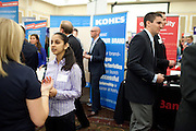 Ashwini Naik takes part in the Career and Internship Fair at Ohio University in Athens, Ohio on Tuesday, September 24, 2013. Photo by Chris Franz