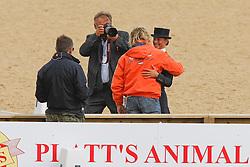 Cornelissen Adelinde (NED) - Parzival<br /> Janssen Sjef (NED), Melissen Jacob (NED)<br /> European Championship Dressage Windsor 2009<br /> Photo© Hippo Foto - Dirk Caremans