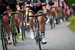 Team Sunweb work to close the gap to the breakaway at OVO Energy Women's Tour 2018 - Stage 4, a 130 km road race from Evesham to Worcester, United Kingdom on June 16, 2018. Photo by Sean Robinson/velofocus.com