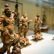 Freer Gallery of Art Asian Statues. The Freer Gallery of Art, on Washington DC's National Mall, joined the Arthur M. Sackler Gallery to form the Smithsonian Institution's Asian art gallery. The Freer Gallery contains a sizeable collection of Asian art, but also has a major collection of works by James McNeill Whistler.