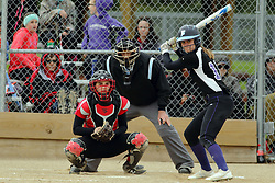 21 April 2017:   Heyworth Hornets at Lexington-Ridgeview girls HOIC Softball game at Keller Park in Lexington