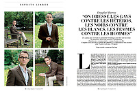 Portraits of Douglas Murray (licensed by Agence Opale in Paris) in Le Figaro Magazine - November 15th 2019 / 15 novembre 2019