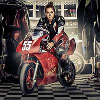 Mini GP Racer, Robyn Ham