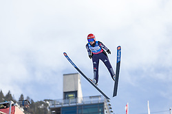 30.01.2016, Normal Hill Indiviual, Oberstdorf, GER, FIS Weltcup Ski Sprung Ladis, Bewerb, im Bild Ramona Straub (GER) // Ramona Straub of Germany during her Competition Jump of FIS Ski Jumping World Cup Ladis at the Normal Hill Indiviual, Oberstdorf, Germany on 2016/01/30. EXPA Pictures © 2016, PhotoCredit: EXPA/ Peter Rinderer