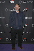 """SHIE ROZOW attends the Hulu Presentation of """"Wu-Tang: An American Saga"""" at the 2019 PaleyFest Fall TV Previews at the Paley Center for Media in Beverly Hills, California."""