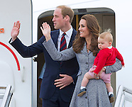 Prince George & Parents Kate and William Depart Australia2a