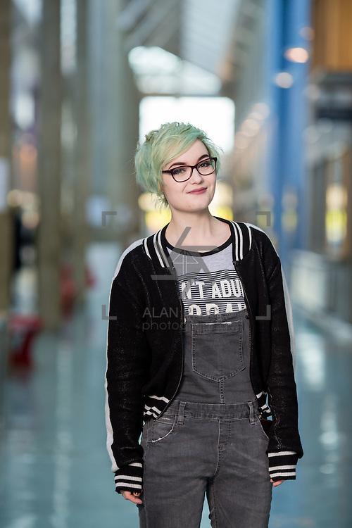 09.01.2017           <br /> LIT Snap Chat<br /> LIT Social Care student, Amy McLaughlin. Picture: Alan Place
