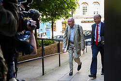 © Licensed to London News Pictures. 13/05/2015. LONDON, UK. Former Mayor of London Ken Livingstone attending Labour's National Executive Committee meeting to finalise leadership election arrangements at The Labour Party London Office on Wednesday, 13 May 2015. Photo credit : Tolga Akmen/LNP