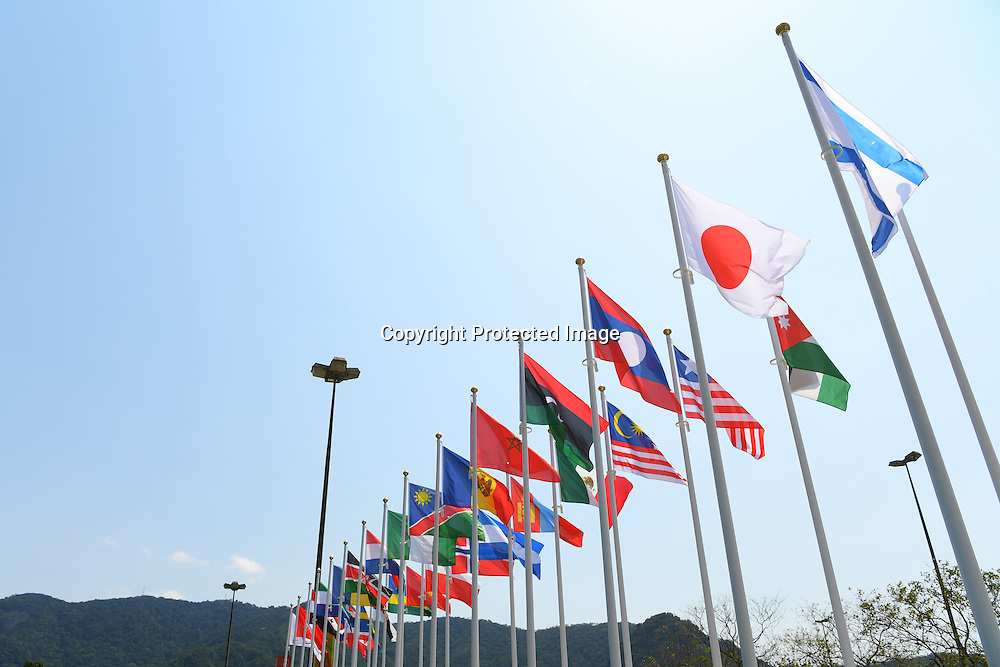 Flags/General view, <br /> SEPTEMBER 7, 2016 : the Rio 2016 Paralympic Games in Rio de Janeiro, Brazil. <br /> (Photo by AFLO SPORT)