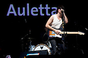 Mainz | 07.08.2010..Summer Music Festival of RPR 1 Radio Station in the german city of Mainz (Rhineland-Palatinate), picture shows singer Alex of the Band Auletta from Mainz...RPR 1 Rheinland-Pfalz Open Air 2010 in Mainz, hier: Alex, Sänger und Gitarrist der Band Auletta aus Mainz...©peter-juelich.com..[No Model Release | No Property Release]