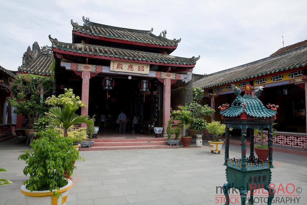 Hainan chinese temple.<br /> Hoi An, Vietnam, Asia.