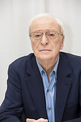 March 25, 2017 - New York, New York, U.S. - MICHAEL CAINE promotes 'Going in Style'. Sir Michael Caine, CBE (born Maurice Joseph Micklewhite; March 14 1933) is an English actor and author. Renowned for his distinctive working class cockney accent, Caine has appeared in over 115 films and is regarded as a British film icon. He made his breakthrough in the 1960s with Zulu (1964), The Ipcress File (1965), Alfie (1966), for which he was nominated for an Academy Award, The Italian Job (1969), and Battle of Britain (1969). His most notable roles in the 1970s included Get Carter (1971), The Last Valley, Sleuth (1972), for which he earned his second Academy Award nomination, The Man Who Would Be King (1975), and A Bridge Too Far (1977). He achieved some of his greatest critical success in the 1980s, with Educating Rita (1983) earning him the BAFTA and Golden Globe Award for Best Actor. In 1986, he received an Academy Award for Best Supporting Actor for his performance in Woody Allen's Hannah and Her Sisters. Caine played Ebenezer Scrooge in The Muppet Christmas Carol (1992). Having by that time practically retired from acting on the big screen, he enjoyed a career resurgence in the late 1990s, receiving his second Golden Globe Award for his performance in Little Voice in 1998 and receiving his second Academy Award for Best Supporting Actor for The Cider House Rules the following year. Caine played Nigel Powers in the 2002 parody Austin Powers in Goldmember, and Alfred Pennyworth in The Dark Knight Trilogy. He appeared in several other of Nolan's films including The Prestige (2006), Inception (2010), and Interstellar (2014). He also appeared as a supporting character in Children of Men and Pixar's 2011 film Cars 2. As of February 2017, films in which he has starred have grossed over 3.5 billion domestically and over 7.8 billion worldwide. Caine is ranked the eleventh highest grossing box office star. Caine is one of only two actors nominated for an Academy Award for acting i