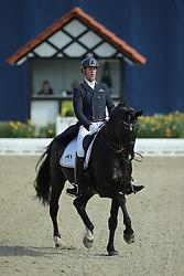 Van Orshagen Mario, (BEL), Wilco V<br /> Qualification Grand Prix Special<br /> Horses & Dreams meets Denmark - Hagen 2016<br /> © Hippo Foto - Stefan Lafrentz