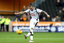 Bradley Johnson of Derby County passes the ball - Mandatory by-line: Robbie Stephenson/JMP - 05/11/2016 - FOOTBALL - Molineux - Wolverhampton, England - Wolverhampton Wanderers v Derby County - Sky Bet Championship