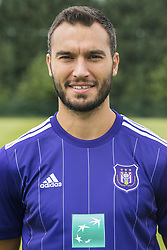 July 11, 2017 - Brussels, BELGIUM - Anderlecht's Ivan Obradovic poses for photographer at the 2017-2018 season photo shoot of Belgian first league soccer team RSC Anderlecht, Tuesday 11 July 2017 in Brussels. BELGA PHOTO LAURIE DIEFFEMBACQ (Credit Image: © Laurie Dieffembacq/Belga via ZUMA Press)