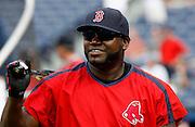 "Boston designated hitter David ""Big Papi"" Ortiz before the game between the Atlanta Braves and the Boston Red Sox at Turner Field in Atlanta, GA on June 18, 2007.."