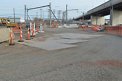 New Haven Rail Yard, Independent Wheel True Facility. CT-DOT Project # 0300-0139, New Haven CT..Progress Photograph of Construction Progress Photo Shoot 8 on 14 February 2012.Image No. 06