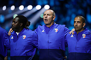 Bernard Diomede (France 98), Alain BOGHOSSIAN (France 98), David Trezeguet (France 98) during the 2018 Friendly Game football match between France 98 and FIFA 98 on June 12, 2018 at U Arena in Nanterre near Paris, France - Photo Stephane Allaman / ProSportsImages / DPPI