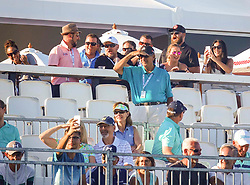 February 28, 2019 - Florida, U.S. - Fans follow the action during the first round of The Honda Classic Thursday, February 28, 2019 at the PGA National Resort & Spa in Palm Beach Gardens. (Credit Image: © Bruce R. Bennett/The Palm Beach Post via ZUMA Wire)