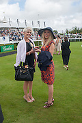 DANNI MENZIES; NOELLE RENO Ladies Day, Glorious Goodwood. Goodwood. August 2, 2012