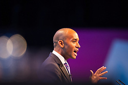 © Licensed to London News Pictures . 23/09/2013 . Brighton , UK . Shadow Business Secretary , CHUKA UMUNNA speaks during the Work and Business session . Day 2 of the Labour Party 's annual conference in Brighton . Photo credit : Joel Goodman/LNP