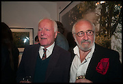 DESMOND GUINNESS; MIM SCALA, Mim Scala, In Motion, private view. Eleven. Eccleston st. London. 9 October 2014.
