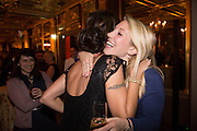 JODI ELLEN MALPAS; REBECCA RITCHIE,;, Self-publishing phenomenon of 2013, Jodi Ellen Malpas celebrates the launch of  the print editions of THIS MAN at the Café Royal, London. 17 October 2013.