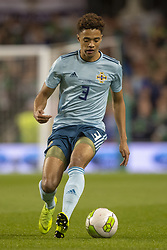 November 15, 2018 - Dublin, Ireland - Jamal Lewis of N.Ireland controls the ball during the International Friendly match between Republic of Ireland and Northern Ireland at Aviva Stadium in Dublin, Ireland on November 15, 2018  (Credit Image: © Andrew Surma/NurPhoto via ZUMA Press)