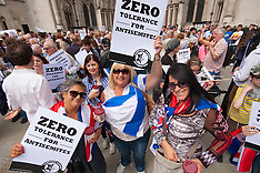 2014-08-31 Thousands protest in London against Antisemitism
