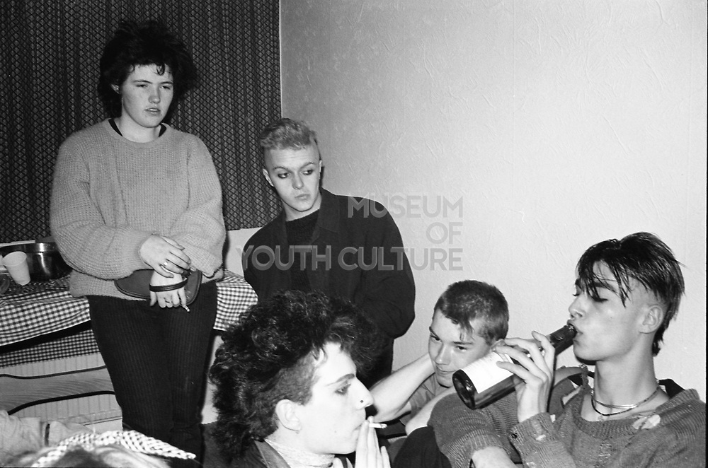 Jim's Party, High Wycombe, UK, 1980s.