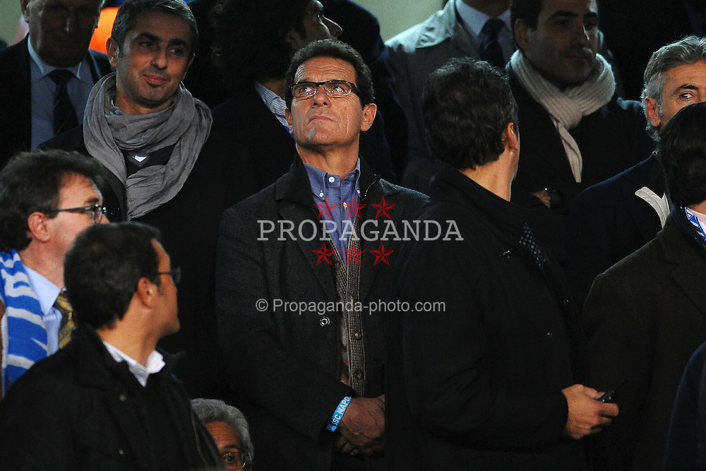 22.11.2011, Stadio San Paolo, Rom, ITA, UEFA CL, Gruppe A, SSC Neapel (ITA) vs Manchester City (ENG), im Bild Fabio CAPELLO England coach, // during the football match of UEFA Champions league, group A, between SSC Neapel (ITA) vs Manchester City (ENG) at San Paolo Stadium, rome, Italy on 22/11/2011. EXPA Pictures © 2011, PhotoCredit: EXPA/ Insidefoto/ Andrea Staccioli..***** ATTENTION - for AUT, SLO, CRO, SRB, SUI and SWE only *****