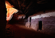 A cliff dwelling of the Ancestral Puebloans, Cedar Mesa, Utah.
