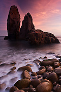 This is just one of the many seastack formations that are present on the coastline of the Sintra-Cascais Natural Park