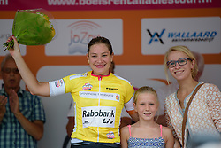 Roxane Knetemann (Rabo Liv) leads the mountain classification at the 111 km Stage 4 of the Boels Ladies Tour 2016 on 2nd September 2016 in 's-Hertogenbosch, Netherlands. (Photo by Sean Robinson/Velofocus).