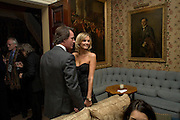 TIM JEFFERIES and MALIN JOHANNSON, Pre Bafta dinner hosted by Charles Finch and Chanel. Mark's Club. Charles St. London. 9 February 2008.  *** Local Caption *** -DO NOT ARCHIVE-© Copyright Photograph by Dafydd Jones. 248 Clapham Rd. London SW9 0PZ. Tel 0207 820 0771. www.dafjones.com.