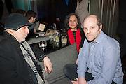 RON ARAD; ALMA ARAD; GAVIN TURK, Liberatum Cultural Honour  for John Hurt, CBE in association with artist Svetlana K-Lié.  Spice Market, W London - Leicester Square