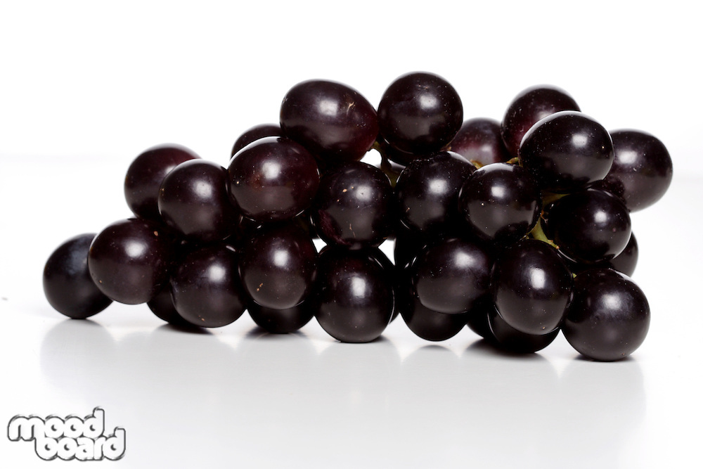 Bunch of grapes - studio shot